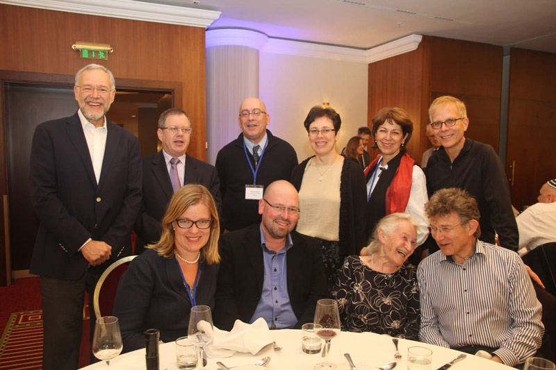 Linda with with HE Daniel Meron, Jill Meron and Jonathan Wootliff