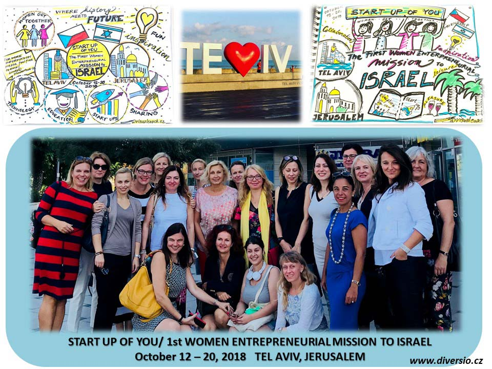 Start up of you - 1st Women Entrepreneurial Mission to Israel