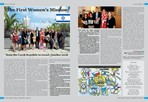 The First Women's Mission from the Czech Republic to Israel, October 2018