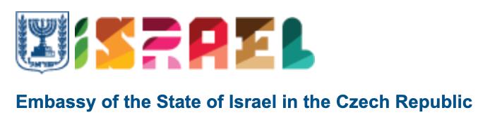 Czech Israel Embassy Logo